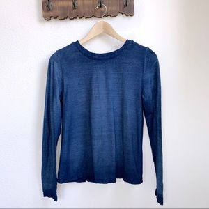 Cloth & Stone | Open Back Long Sleeve Top